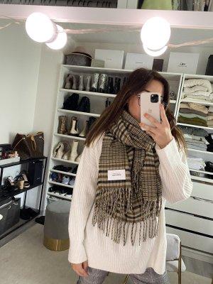 Vero Moda Bufanda de flecos marrón-beige