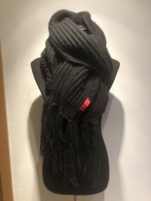 HUGO Hugo Boss Sciarpa di lana nero