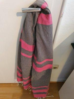 Marina Rinaldi Zomersjaal grijs-roze