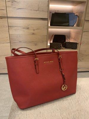 Michael Kors Borsa shopper rosso-rosso mattone