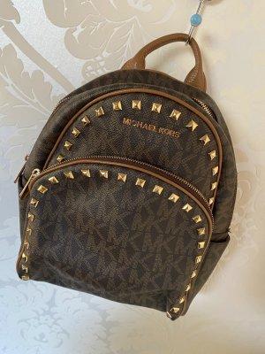 Michael Kors School Backpack multicolored leather