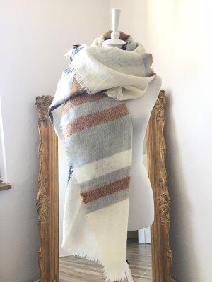 Butik Sciarpa lavorata a maglia multicolore