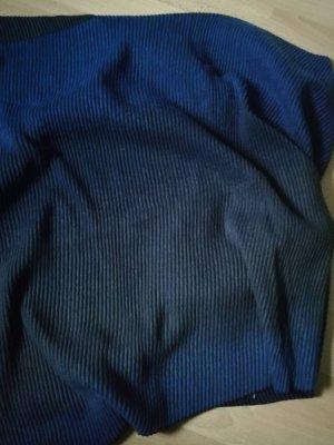 Cecil Sciarpa di lana blu scuro-grigio Cotone