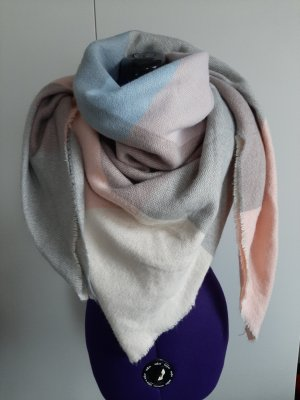 Asos Woolen Scarf rose-gold-coloured-natural white