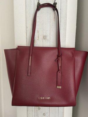Calvin Klein Comprador rojo oscuro
