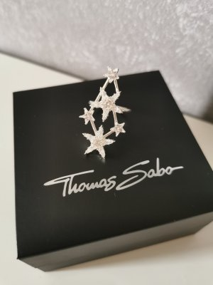 Thomas Sabo Statement ring wit-zilver