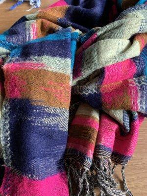 Accessoires Bufanda de lana multicolor