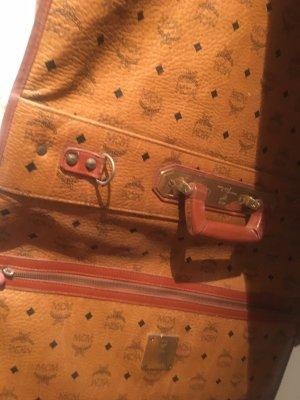 MCM Suit Bag cognac-coloured