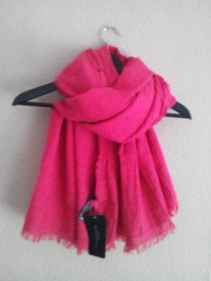 Großes Halstuch in Pink aus 100% Baumwolle, neu