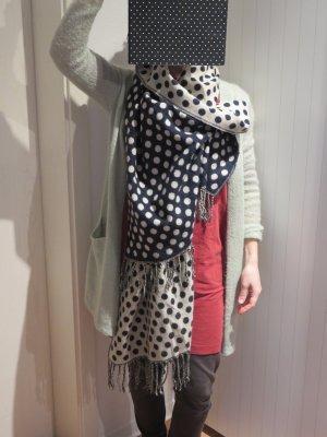 Accessorize Wollen sjaal donkerblauw Gemengd weefsel