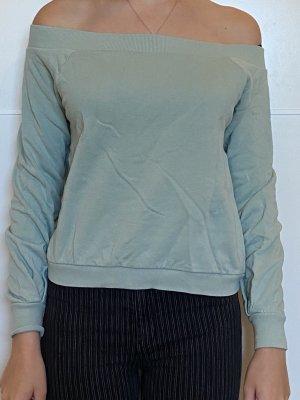 Grün/blauer Pullover