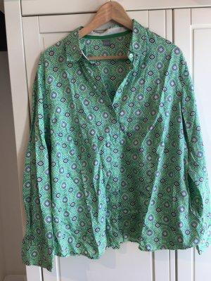 Grün Bluse Erfo Muster