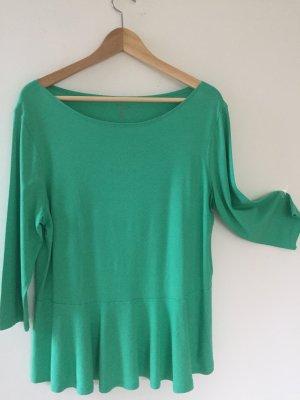 Marc Cain Boatneck Shirt green viscose