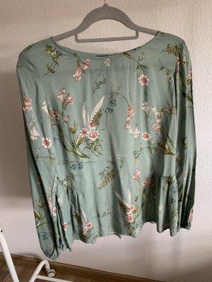 Grün/Florale Bluse - 36