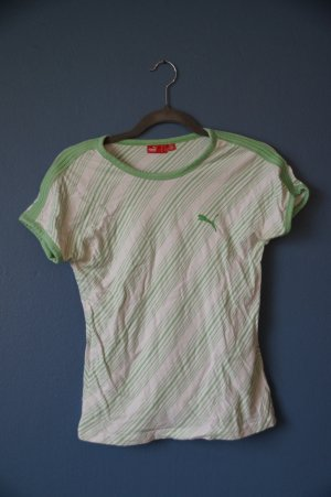* grün gestreiftes Shirt von Puma**