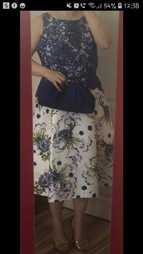 Debenhams Suknia balowa niebiesko-fioletowy-niebieski