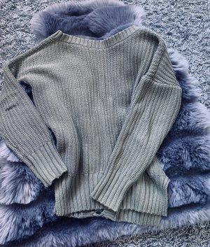 Grün Pullover