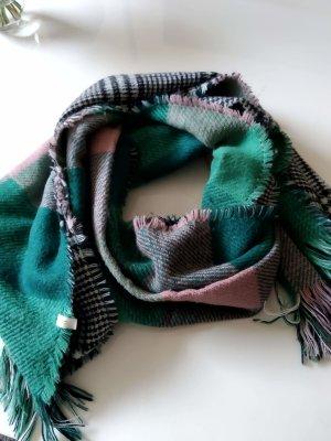 Grün rosa Schal von Cream