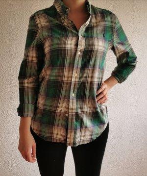 Grün weiß karierte Bluse Hemd - Polo Ralph Lauren