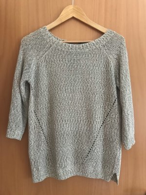 Sfera Crochet Sweater white-khaki