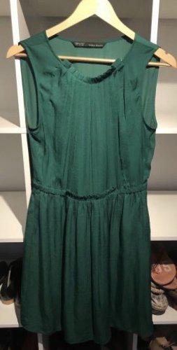 Gründes Kleid Zara Größe S