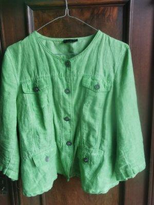 Sa.Hara Blouse Jacket lime-green