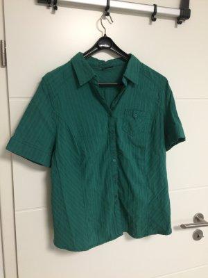 Grüne Bluse mit kurzen Armen von Wissmach