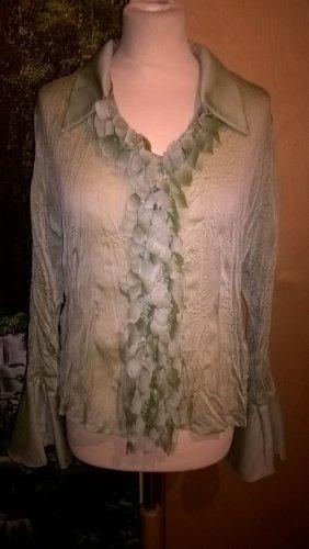 Grüne Bluse transparent von Pas de Quoi in Gr. M