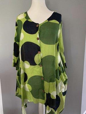 Grüne Bluse / Tunika vom DW-Shop, Gr. 40/42