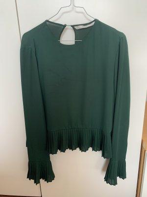 Grüne Bluse Zara