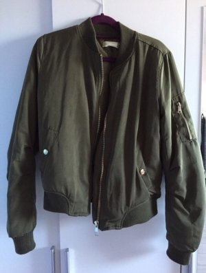 Giacca bomber verde scuro