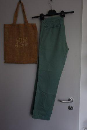 Maison Scotch Chinos green-lime-green cotton