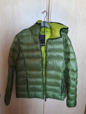 CMP Down Jacket forest green-meadow green nylon
