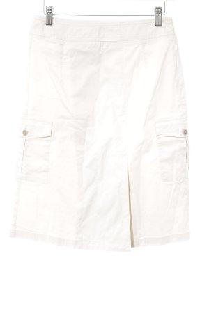 Grüne Erde Falda estilo cargo beige claro look casual
