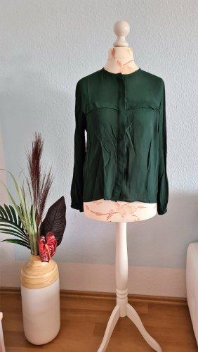 grüne fließende Bluse von Zara