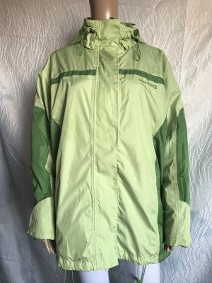 Casual W.E.A.R Double Jacket green-lime-green polyester