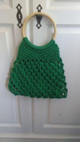 Grüne Handtasche