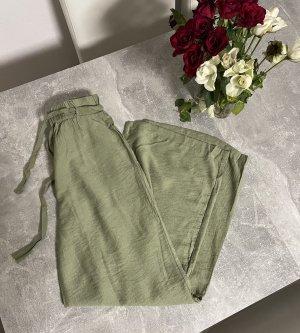 Yedigün.moda Spodnie khaki khaki-jasnozielony
