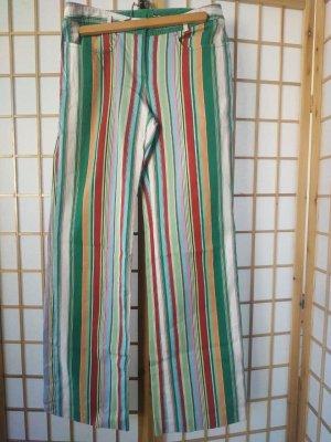 Marc Aurel Pantalone jersey multicolore Cotone