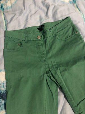 H&M Pantalone cinque tasche verde chiaro-verde