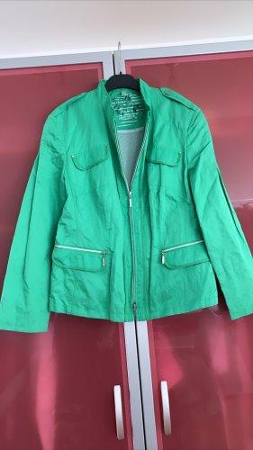 0039 Italy Blouson universitaire vert