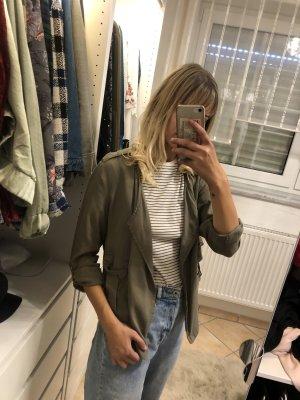 Blouse Jacket green grey