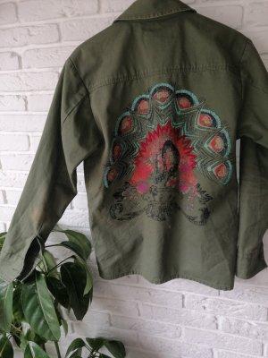 Grüne Jacke Urban Outfitters