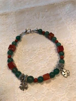 Handarbeit Brazalete de perlas multicolor