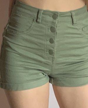 Pantaloncino di jeans cachi