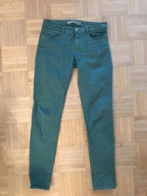 Grüne Jeans von Zara