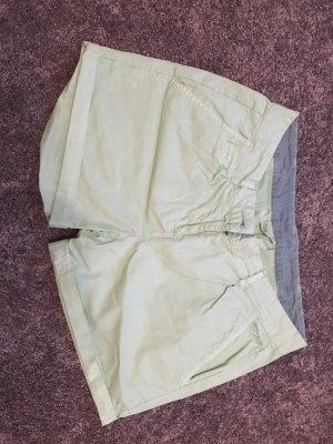 Protest Pantalón corto de tela vaquera verde claro