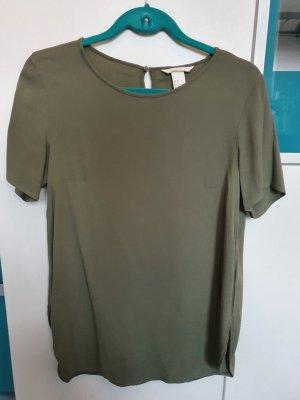 Grüne lange Bluse