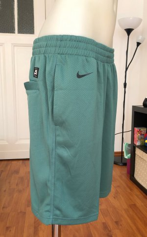 Nike Sportshort grijs-groen-lichtgroen
