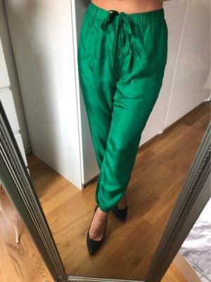 Grüne leicht durchsichtige Sommerhose von Hoss